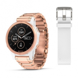 Fenix 5S Plus Rose Gold With Metal Band