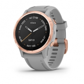 Fenix 6S Pro and sapphire edition Rose Gold tone with Powder Gray Band