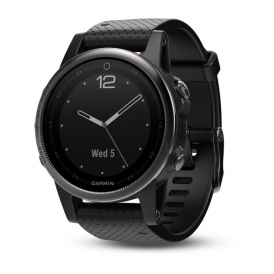 Fenix 5s Black Sapphire with Black Band