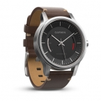 vivomove premium- stainleseel & gold tone with leather band
